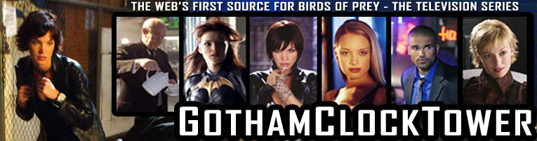 Gotham Clock Tower The Web S First Source For Birds Of Prey The Television Series